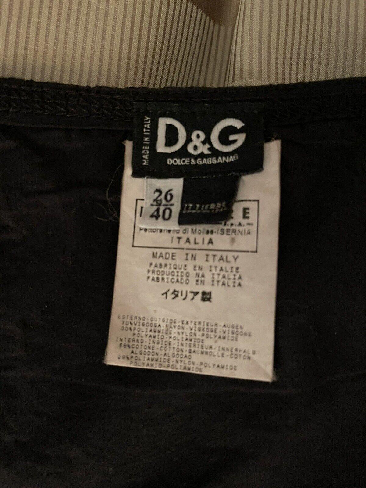 Dolce& Gabbana Black Lace Corset Top Size 26/40 - image 6