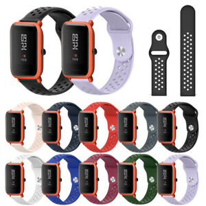 Wristbands-Bracelet-Sport-Strap-Silicone-20mm-Watch-Band-For-Huami-Amazfit-Bip