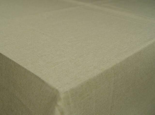 Tischdecke Stoff Lotuseffekt Fleckenabweisend Leinenoptik 130x220cm Rechteckig