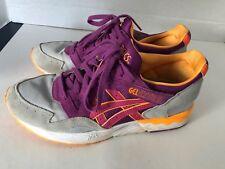Asics Men s Gel-Lyte V Gray Purple Sneakers H504N Sz 8. 5 Running Cross b786b3d5b52d