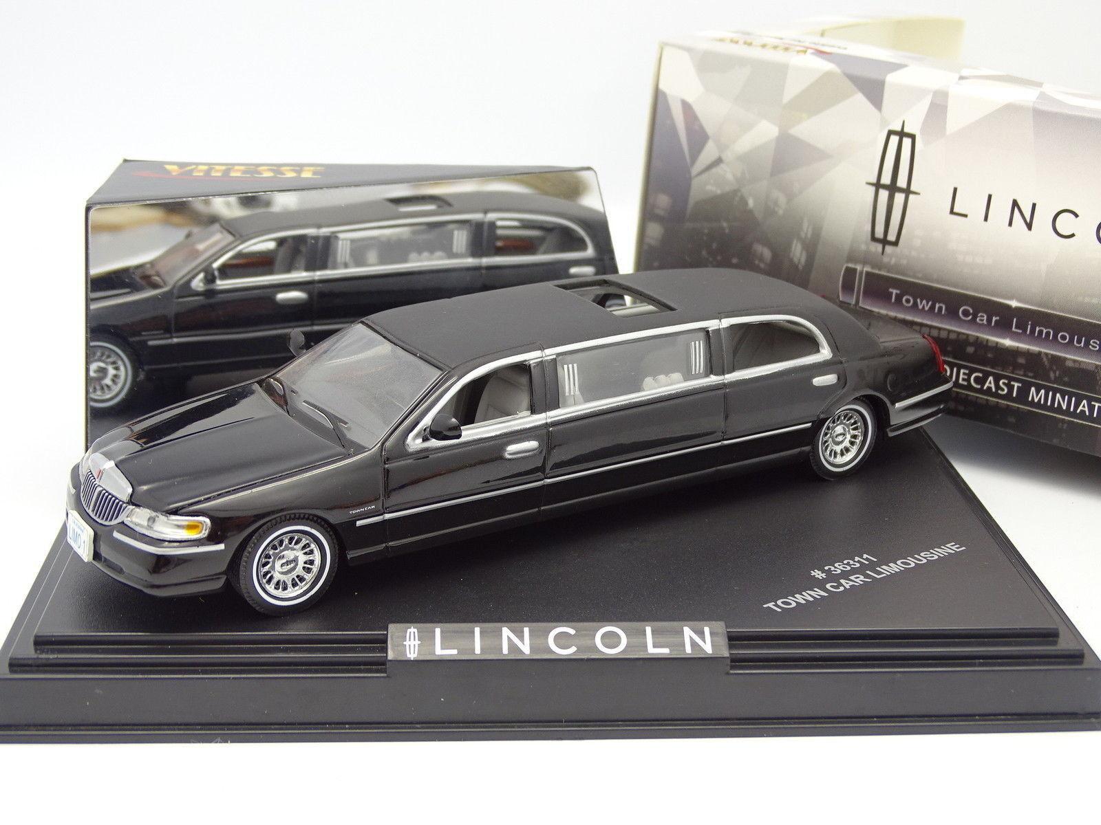 Vitesse 1 43 - Lincoln Town Car Limousine Noire