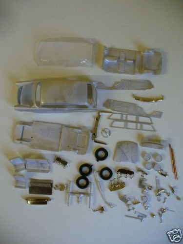 Austin A55 Mk II Countryman  1 43rd scale white metal kit by K & R Replicas
