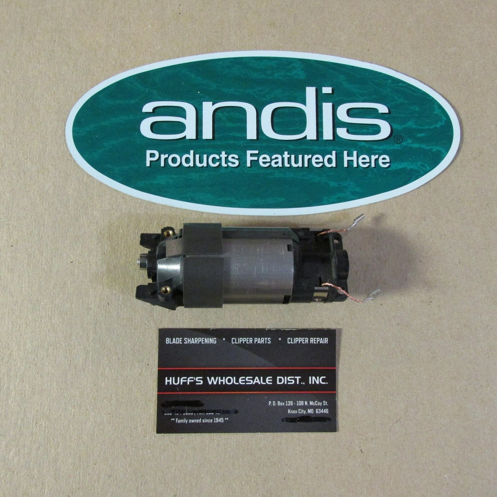 Andis Ultra Edge Super 2Speed AGC2 Complete Replacement  Motor Assembly