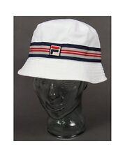FILA Vintage Casper Bucket Hat in bianco-Festival Cappello, Cappello da sole, 80s Casuals