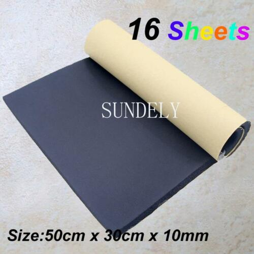 16Sheets Classic Car Sound Proofing Insulation Closed Cell Foam Boat Van Camper