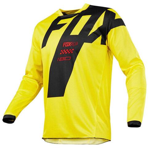 Motocross Racing Jersey Cycling Fox Sports Wear Mountain Bike Gear Shirt Jacket