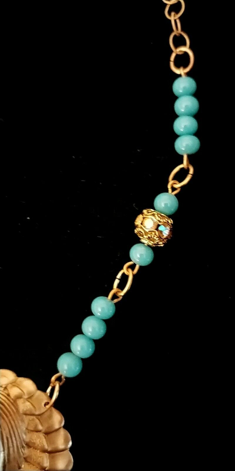 Vintage Egyptian Revival Necklace - image 8