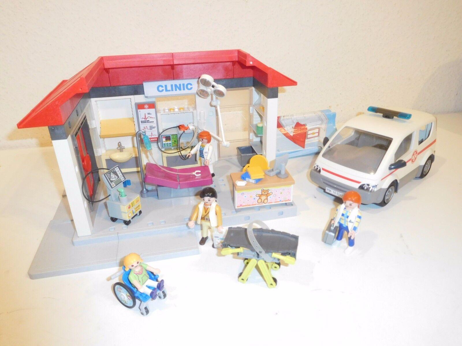 Playmobil 5012 clinic ambulance hospital