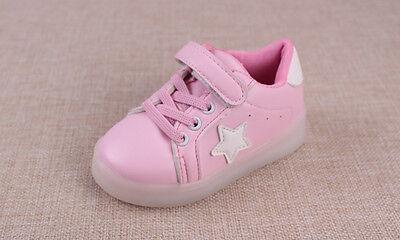 Blinkschuhe in rosa für kleine Prinzessin, Gr.29