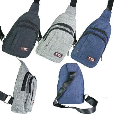 Herren Crossbag Brusttasche Damen Rucksack Freizeit Sport Urlaub Arbeit Backpack
