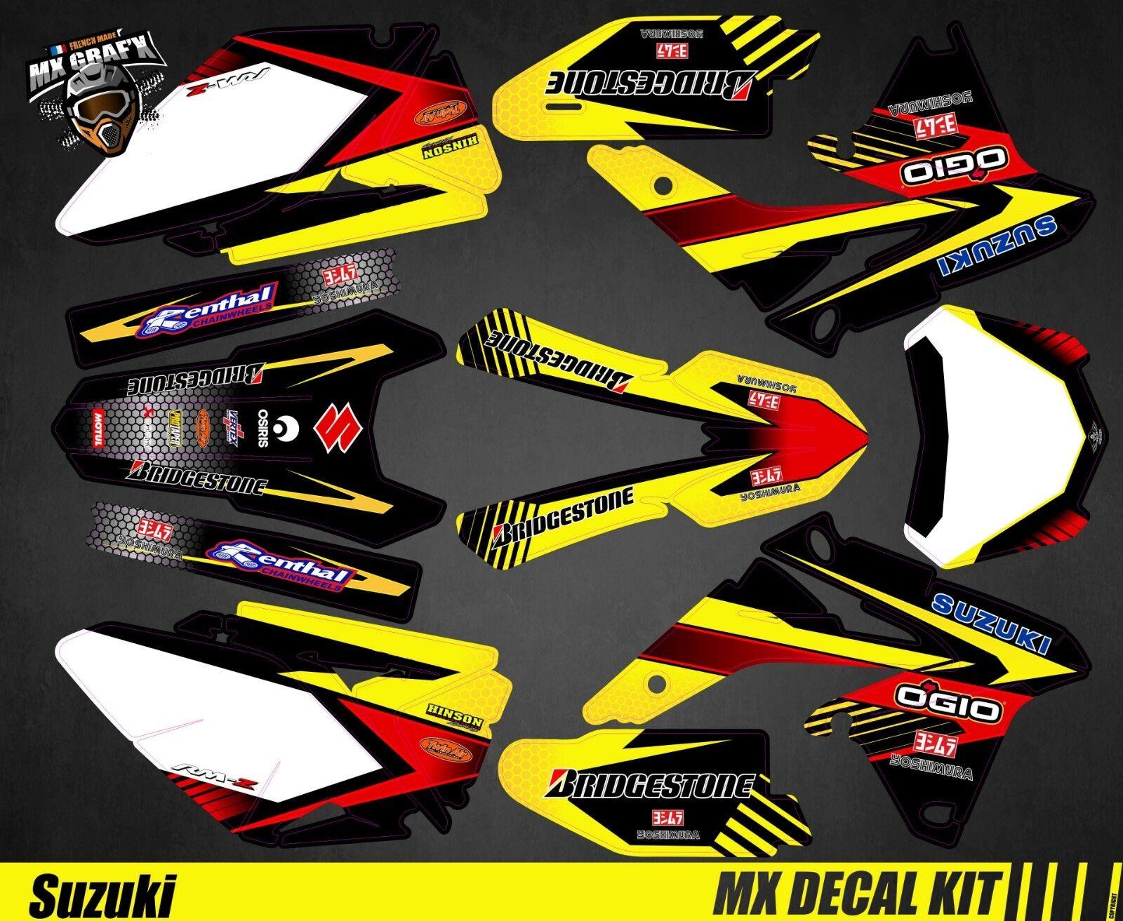 Kit Déco Moto pour / Mx Mx Mx Decal Kit for Suzuki RM-Z - Yellow Strip | Outlet  | Pas Cher  | Outlet Shop En Ligne  | De Qualité Constante  f91b62