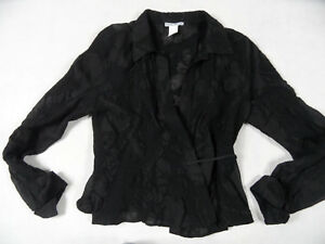 col transparente blouse Top BB1018 Pacini Gr Sarah Magnifique semi Noir à roulé 3 xaIYqppRw