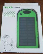 High Capacity Solar Power Bank Battery Charger Waterproof USB Random Color