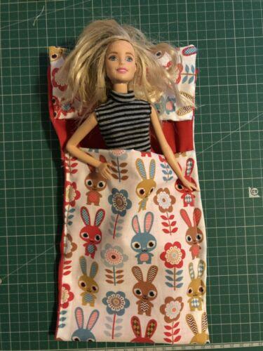 Poupée sac de couchage et oreiller Play Sac de couchage bat Poupée Barbie sac de couchage