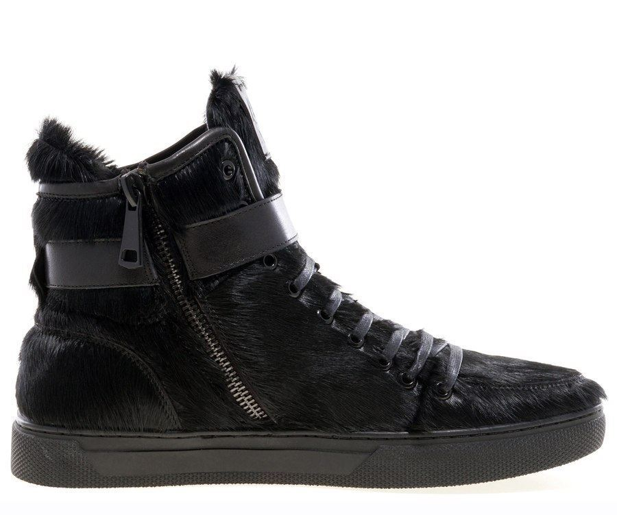 JUMP NEWYORK Men's Sullivan Brushed nero Fur High Top 22001M-192 22001M-192 22001M-192 890476