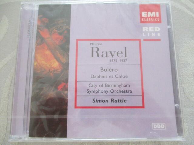 Ravel: Bolero, Daphnis et Chloe - Simon Rattle - EMI Red Line CD NEU OVP NEW