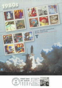 3190-FD-Prog-Insert-33c-Celebrate-the-Century-1980-039-s-034-Hostages-Home-034-Stamp