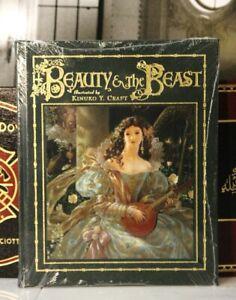 BEAUTY AND THE BEAST - Easton Press - KINUKO & MAHLON CRAFT - SEALED w/ BOX
