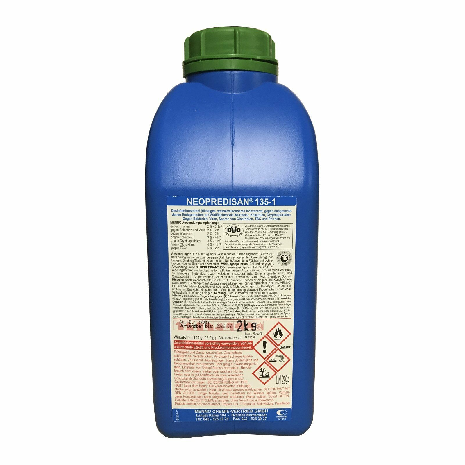 Neoprossoisan 1351  2 kg disinfettante  coniglio cavallo stabile