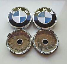 1 Satz BMW Nabenkappen Felgendeckel Nabendeckel 60mm Blau