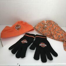 e54885fb52f item 2 Lot Harley Davidson Toddler Boys Girl Do Rag Hat Cap Head Wrap and  knit Gloves -Lot Harley Davidson Toddler Boys Girl Do Rag Hat Cap Head Wrap  and ...