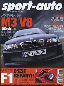SPORT AUTO n°457 Février 2000* BMW M3 V8 MERCEDES CLK55 AMG - France - État : Trs bon état : Livre qui ne semble pas neuf, ayant déj été lu, mais qui est toujours en excellent état. La couverture ne présente aucun dommage apparent. Pour les couvertures rigides, la jaquette (si applicable) est incluse. Aucune  - France