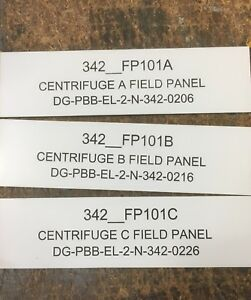Electrical Switchboard Traffolyte Labels with Strong