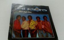 "The Jacksons - Walk Right Now - 7"" Vinyl Record"