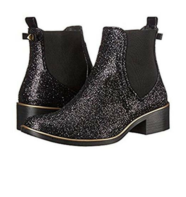 0d2c1a9fcc3 Kate Spade Sedgewick Black Glitter Rubber Ankle BOOTS 36   5 Rain BOOTIES.  +.  185.00Brand New. Free Shipping. Add to Cart. Fjallraven Women s Nuuk  Parka ...