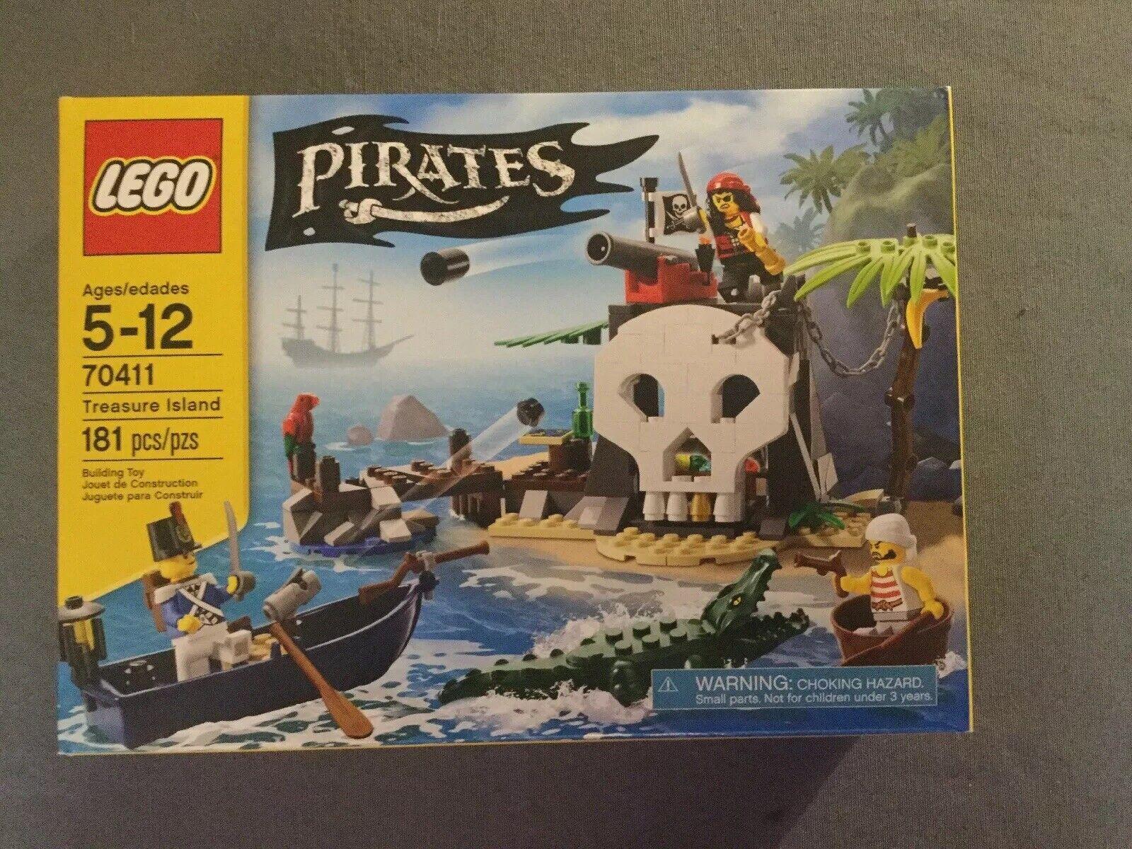 Lego Pirates La Isla Del Tesoro 70411 (2015) - retirado-Nuevo Sellado De Fábrica