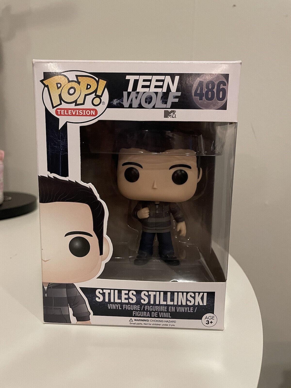 Funko Pop Teen Wolf Stiles Stillinski #486