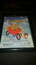 Filmation Ghostbusters Cartoon TV Show Rare Original Promo Ad Framed!