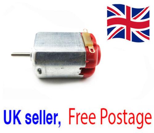 3V-6V DC 0.35-0.4A Hobby motor tipo 130 Micro Motor Juguete Motor Genuino vendedor del Reino Unido