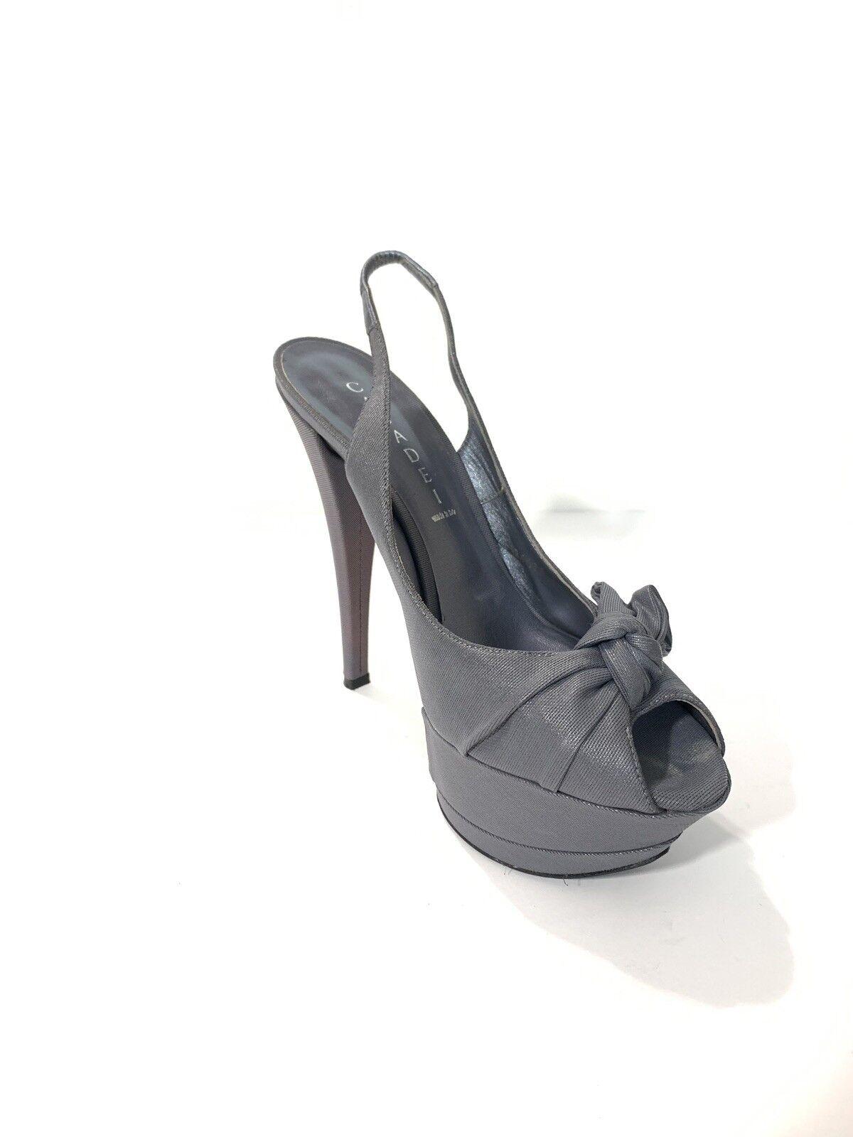 Casadei Zapatos Tacones Talla 9 Color gris Hecho Hecho Hecho en Italia  Precio al por mayor y calidad confiable.