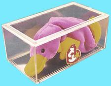 1 PRO MOLD BEANIE BABY DISPLAY CASE Storage Box Holder Clear Plastic PC400 Plush