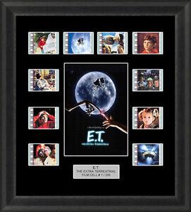 E-T-The-Extra-Terrestrial-Framed-35mm-Film-Cell-Memorabilia-Filmcells-Movie