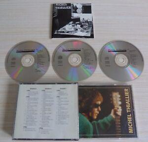 TRES-RARE-BOX-3-CD-MICHEL-THIALLIER-COMPILATION-1982-1991-44-TITRES-1995