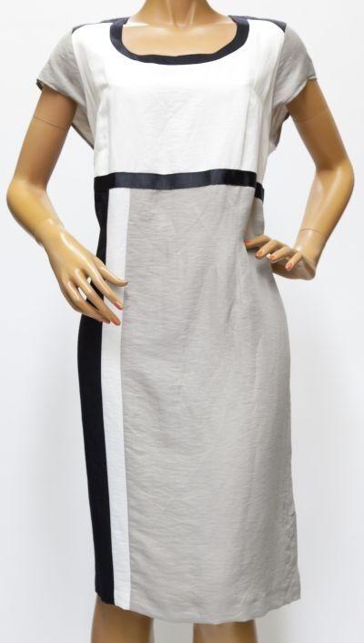 Q'neel - festlich und elegant - Kleid, Etuikleid - - - creme   schwarz 42 - 56 | Großartig  | Wirtschaft  8f3430
