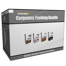 Carpintería Carpintero Herramientas De Carpintería Carpintero curso de formación Programa Bundle