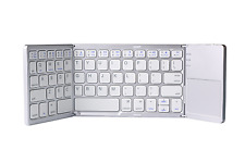 Tri-fold Wireless Bluetooth Portable Keyboard Touchpad