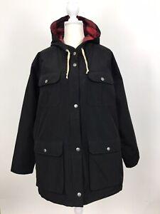 Woolrich-Women-039-s-Advisory-Wool-Insulated-Parka-Coat-Jacket-Wool-Loft-Black-XXL