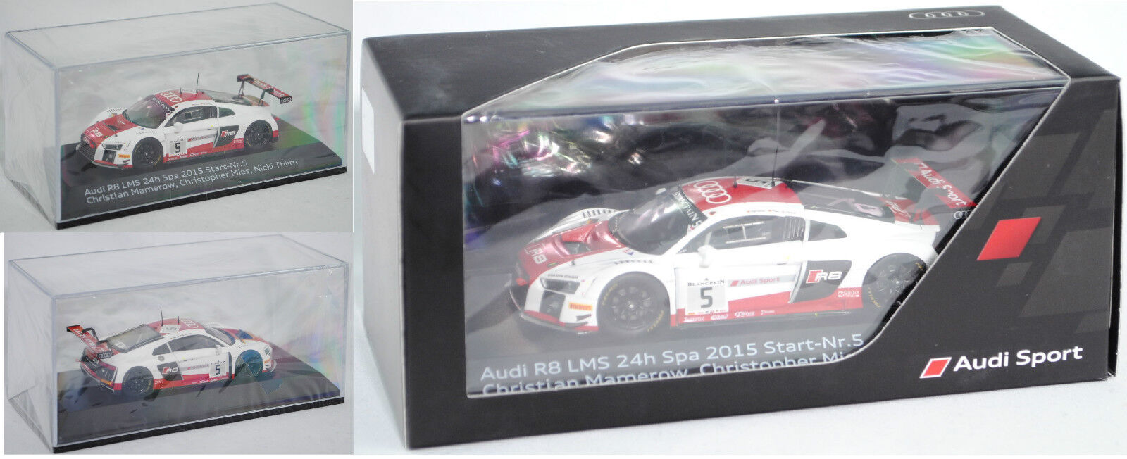Minimax 5021500453i r8 LMS 24 H Spa-Francorchamps 2015 Mamerow Mies ... 1 43