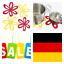 4x-Pfannenschutz-20cm-Blumen-Filz-Untersetzer-Kratzer-Schutz-Waermeschutz-Tisch