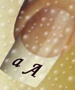 pimp-up-your-Nails-52-Buchstaben-schwarz-Gross-amp-Klein-Naildesign-Nail-Tattoos