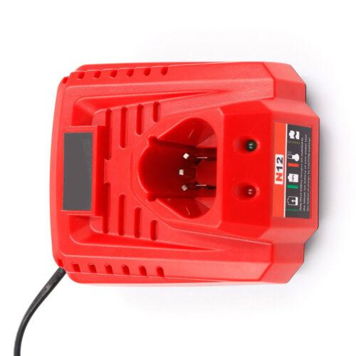 Ersatz 48-59-2401 Ladegerät für Milwaukee 10.8V-12V M12 48-11-2401 Batterie