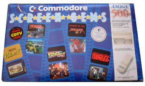 Commodore-Amiga-1990-4-x-Games-Instruction-Booklets-and-containers-no-discs