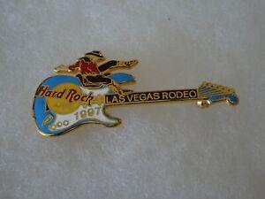 Hard Rock Cafe pin Las Vegas Rodeo 1997 Fender Guitar