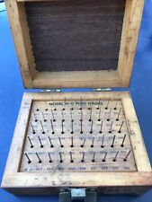 Meyer Gage Makers 011 060 Pin Plug Wire Gauge Set Minus Model M 0