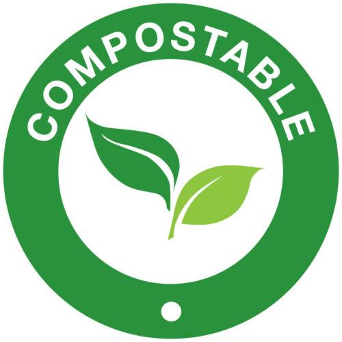 "Case of 10,000 White Paper Straws 8/"" Biodegradable Compostable 6mm Bore 20cm"