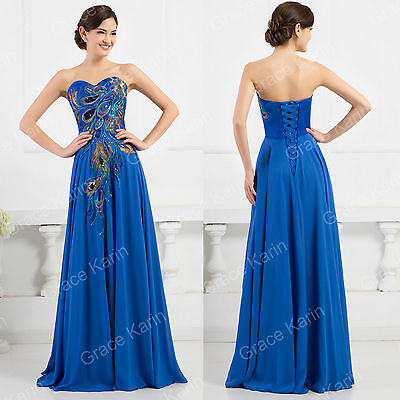 2015 SEXY Long Homecoming Ball Gown Formal Party Evening Prom Bridesmaid Dresses